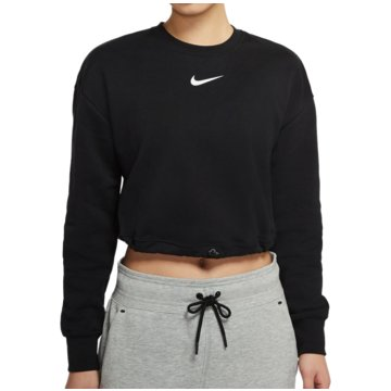 Nike SweatshirtsSportswear Swoosh Crop Crew FT Women schwarz
