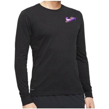 Nike LangarmshirtDry Goliath LS Tee schwarz