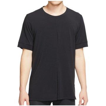 Nike T-ShirtsDry Top SS schwarz