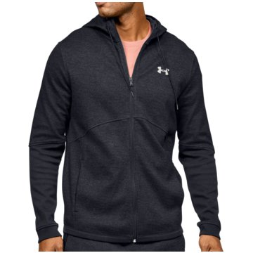 Under Armour SweatshirtsDOUBLE KNIT FZ HOODIE - 1352012 schwarz