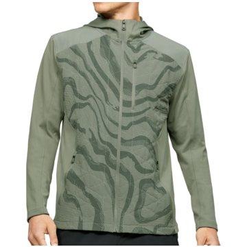Under Armour TrainingsjackenColdGear Reactor Hybrid Lite Printed Jacket grün