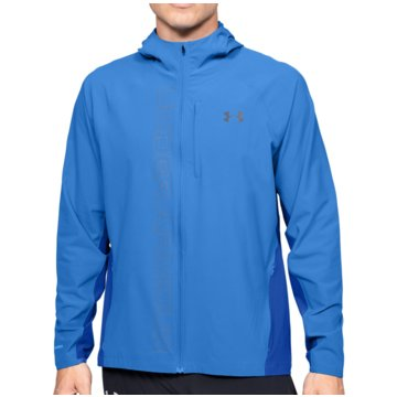 Under Armour LaufjackenQualifier Outrun The Storm Jacket blau