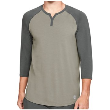 Under Armour UntershirtsAthlete Recovery Sleepwear 3/4 Sleeve Henley Shirt grau