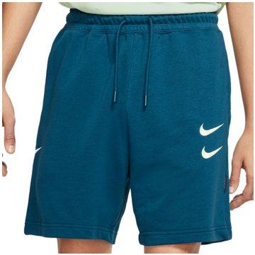 Nike kurze SporthosenSportswear Swoosh Victory Short türkis
