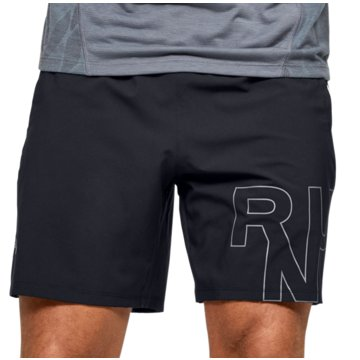 Under Armour LaufshortsLaunch Stretch Woven Logo 7 Inch Short schwarz