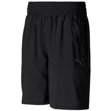 Puma kurze SporthosenTrain Thermo R+ Woven 8 Inch Short schwarz