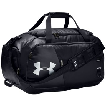 Under Armour Sporttaschen UNDENIABLE DUFFEL 4.0 MITTELGROßE DUFFEL-TASCHE - 1342657 schwarz