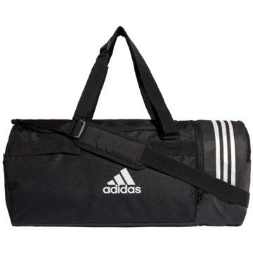 adidas SporttaschenConvertible 3-Stripes Duffelbag M schwarz