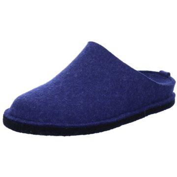 Haflinger HausschuhFlair Soft blau