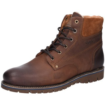 Australian Footwear Schnürstiefelette braun