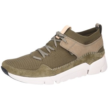 Clarks Sneaker LowTri Active Up oliv