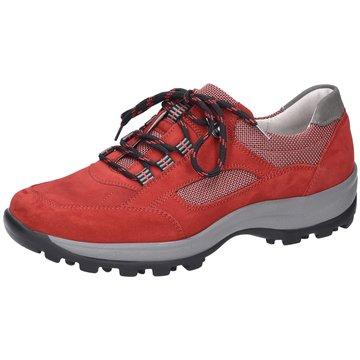 Waldläufer Komfort SchnürschuhHolly rot