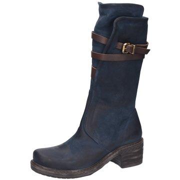 MACA Kitzbühel Klassischer Stiefel blau