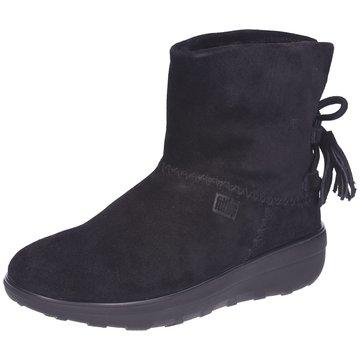 FitFlop Komfort Stiefelette schwarz
