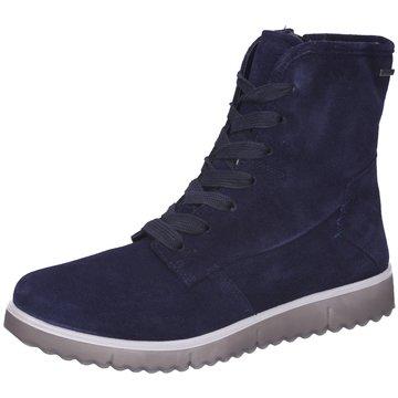 Legero Komfort StiefeletteG blau