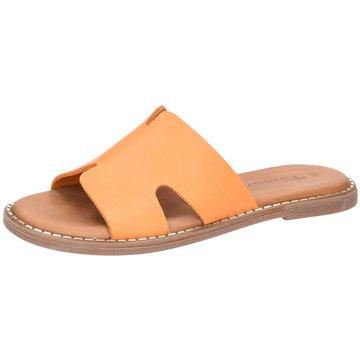 Tamaris Klassische Pantolette orange