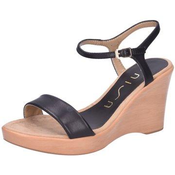 Unisa Sandalette schwarz