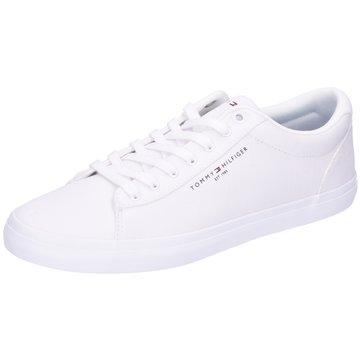 Tommy Hilfiger Sneaker LowEssential Stripes weiß