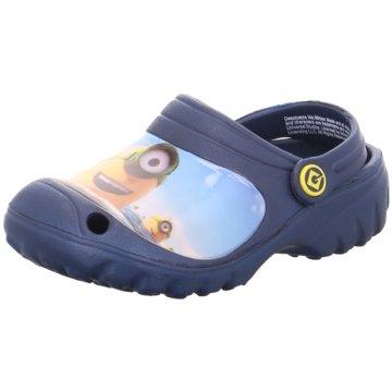 Minions Offene Schuhe blau