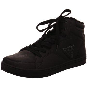 Kappa Sneaker High schwarz