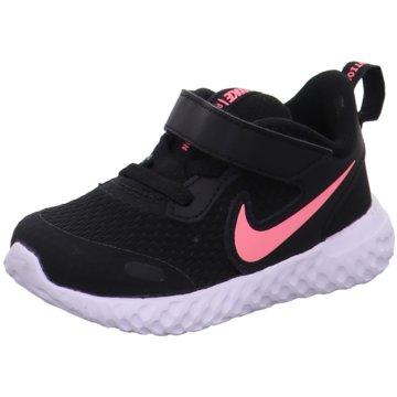 Nike Kleinkinder MädchenNike Revolution 5 Baby/Toddler Shoe - BQ5673-002 schwarz