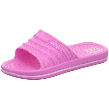 Schuhwerk Badelatsche pink