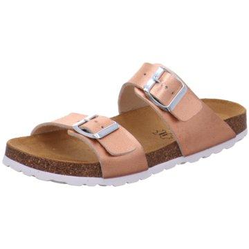 Longo Offene Schuhe gold