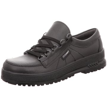 Grisport Komfort Schnürschuh schwarz