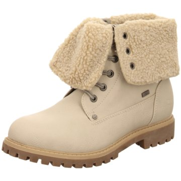 Tom Tailor Winterstiefel beige