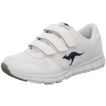KangaROOS Sportlicher Slipper weiß