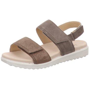 Legero Komfort Sandale grau