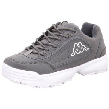 Kappa Plateau Sneaker grau