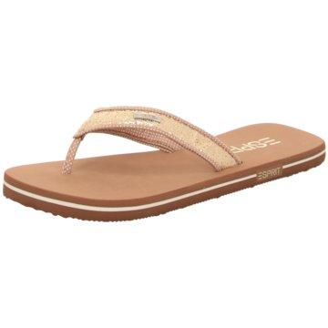Esprit Offene Schuhe beige