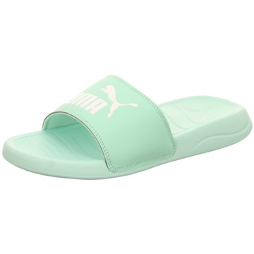 Puma Pool Slides grün