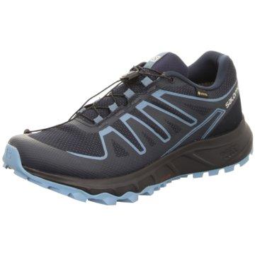 Salomon TrailrunningLIONEER GTX DARK DENIM/NAVY - L41332600 blau