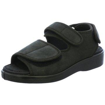 Florett Komfort Schuh schwarz
