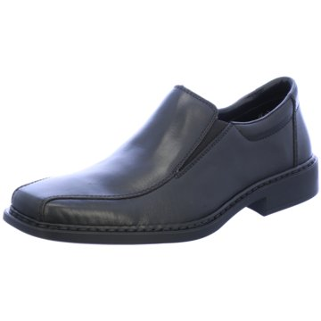 Rieker Business Slipper schwarz