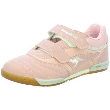 KangaROOS Trainings- und HallenschuhGoalLine Velcro rosa