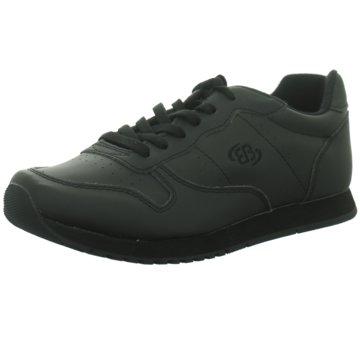 EB Sportlicher Schnürschuh schwarz