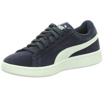Puma Sneaker Low SMASH V2 SD JR - 365176 blau