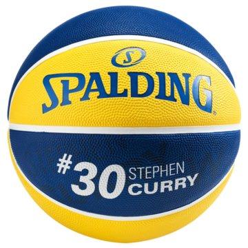 Spalding BasketbälleNBA PLAYER STEPHEN CURRY SZ.7 - 30015865017 gelb