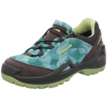 LOWA Wander- & BergschuhSneaker grün