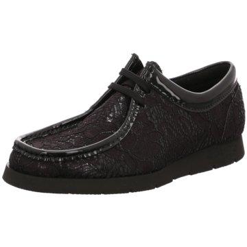 Sioux Mokassins SchnürschuhSneaker schwarz