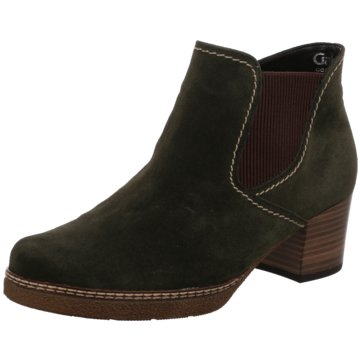 Gabor Chelsea BootAnkle-Bootie grün