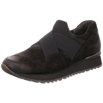 Gabor Klassischer SlipperSneaker schwarz