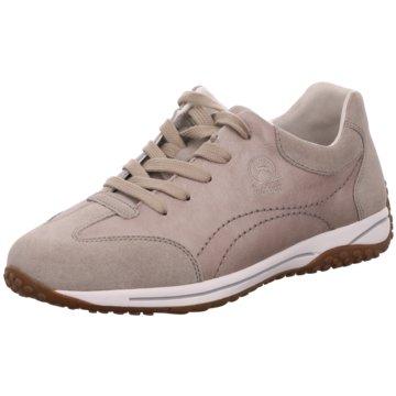 Gabor Komfort SchnürschuhSneaker beige