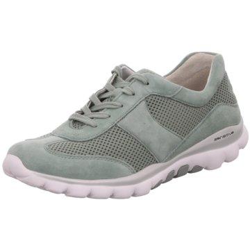 Gabor Komfort SchnürschuhSneaker grün