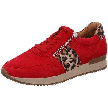 c3a862cdb4 Gabor Sportlicher SchnürschuhSneaker rot. Gabor Sneaker. Sportlicher  Schnürschuh