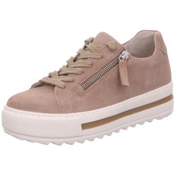 Gabor Plateau SchnürschuheSneaker rosa