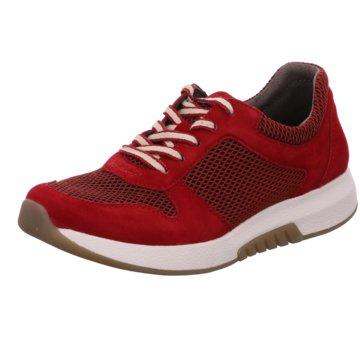 rollingsoft by Gabor Sportlicher SchnürschuhSneaker rot